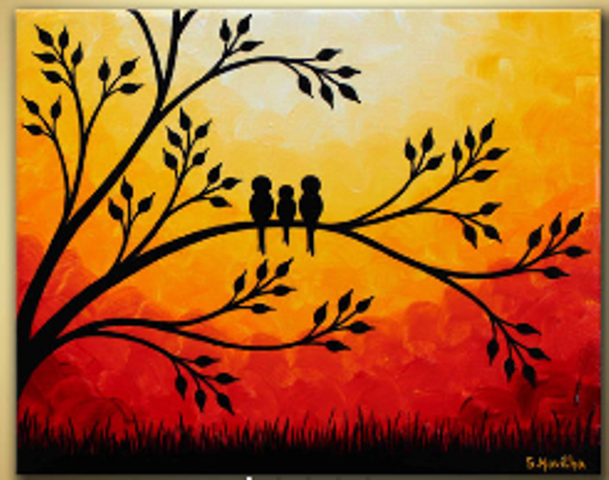Paint And Sip Picture Ideas